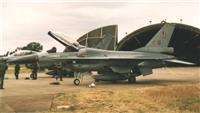 Belgian F-16 in the Northern HAS site