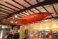 Replica of Chuck Yeager's X-1 Glamorous Glennis