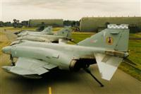 XV465 heads this line-up of Phantoms